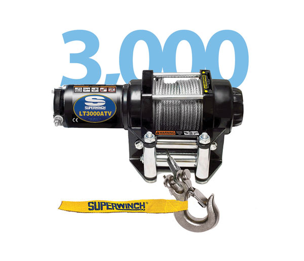 Superwinch lt3000 ATV Winch