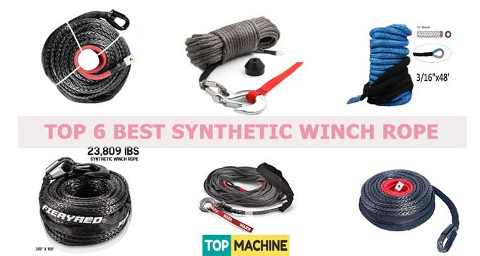 Top 6 Best Synthetic Winch Rope